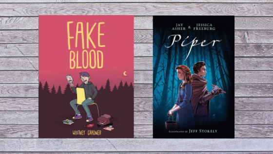 Friday YA Graphic Novel Double Feature: Fake Blood by Whitney